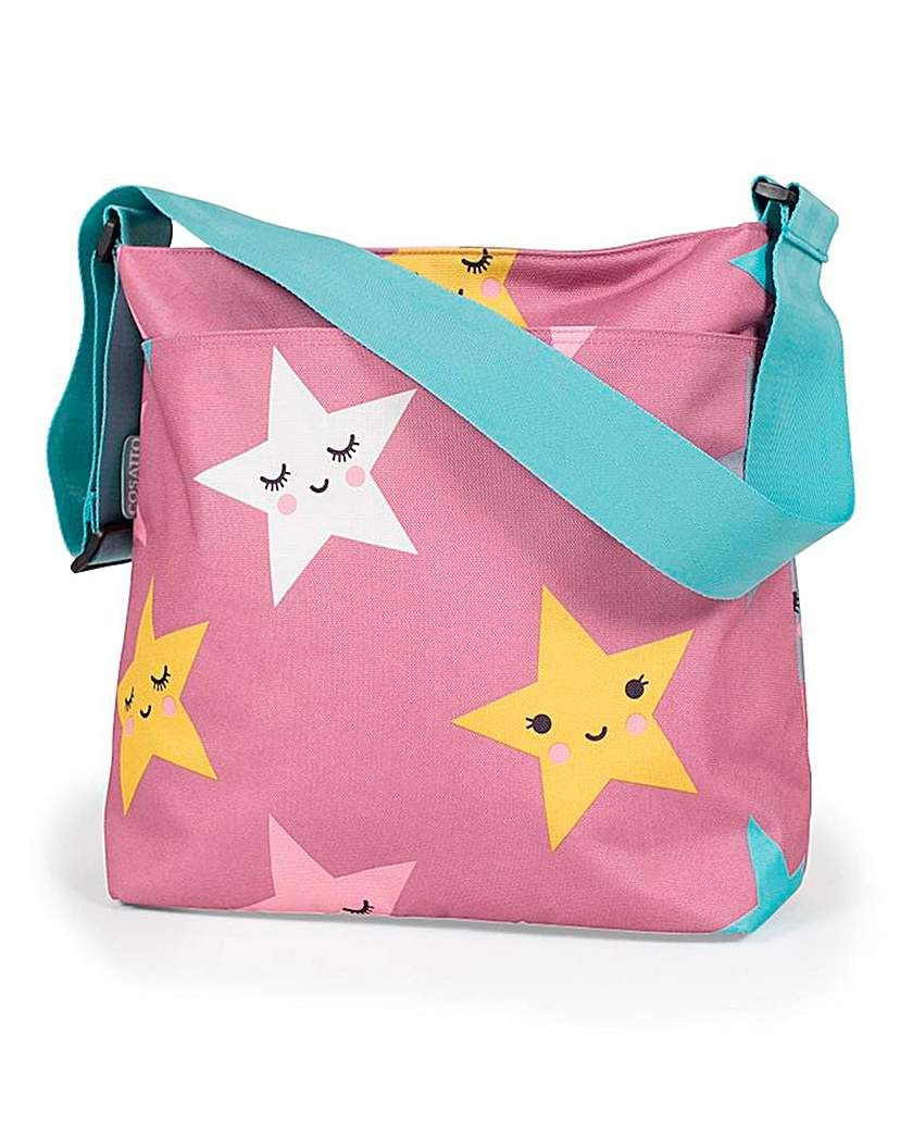 Baby Star Changing Bag pink