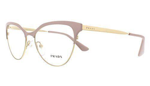 4de3ca17c04a Prada CINEMA PR55SV Eyeglass Frames UF51O1-52 - Pink Pale Gold ...