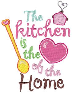 In My Kitchen Sentiments | Embroidery | Machine embroidery ...