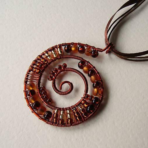 eva55 / Medovina - náhrdelník