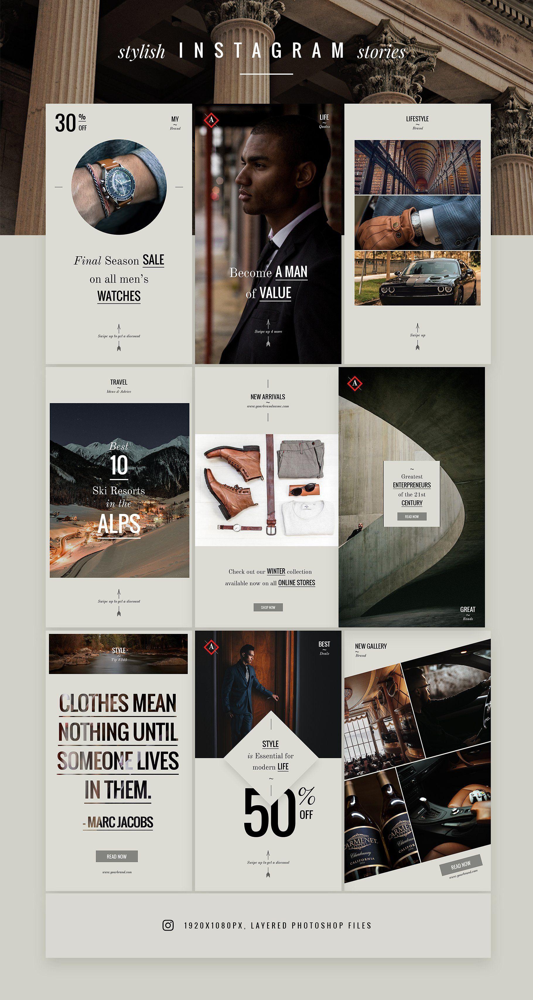 Aston Luxury Lifestyle Brand Social Media Design Instagram Design Instagram Template Design