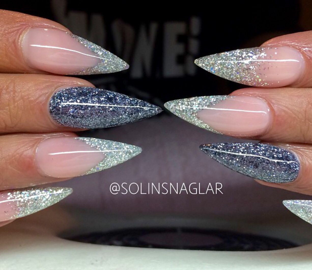 Pin by Pirvu Diana on modele unghii | Pinterest | Diva nails, Nails ...