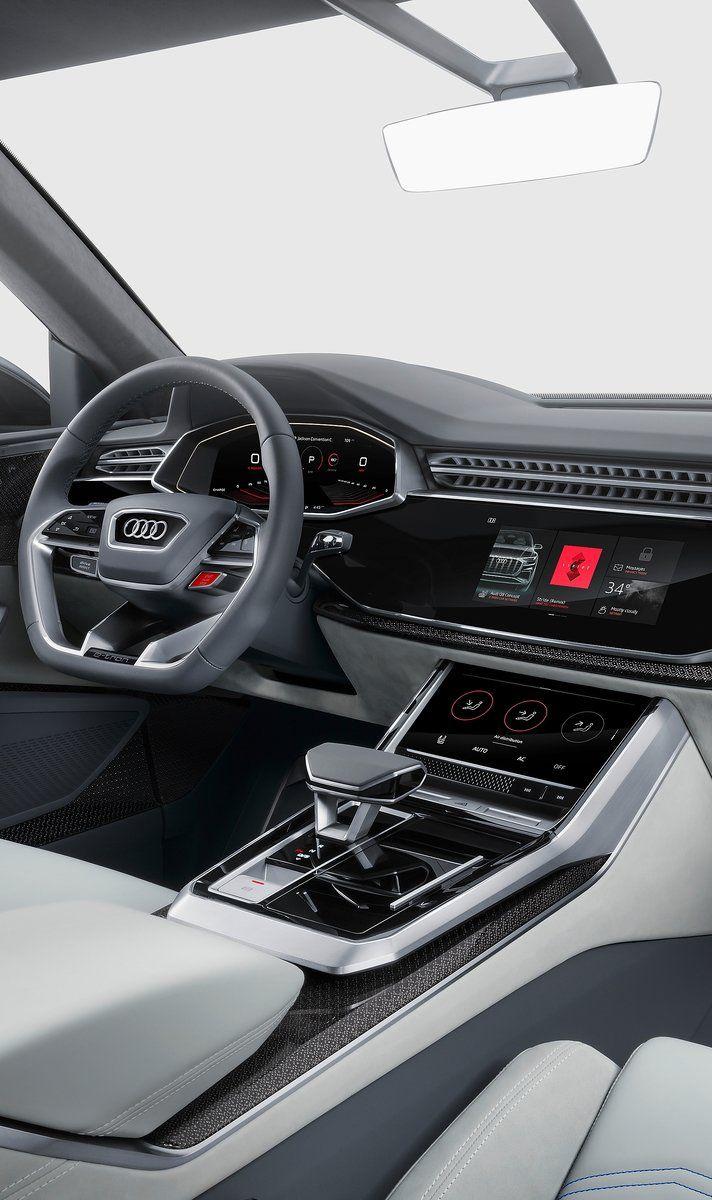 Audi Q8 Concept 2017 Ui Design Car Pinterest Ui