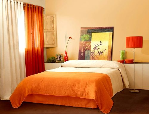 Stunning Orange Colors good for that summer redesigning of the home ...