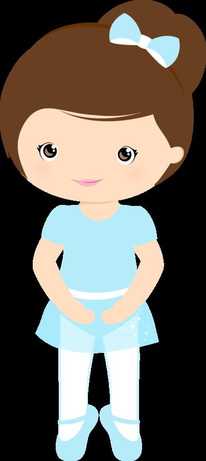 Dibujo Bailarina Infantil