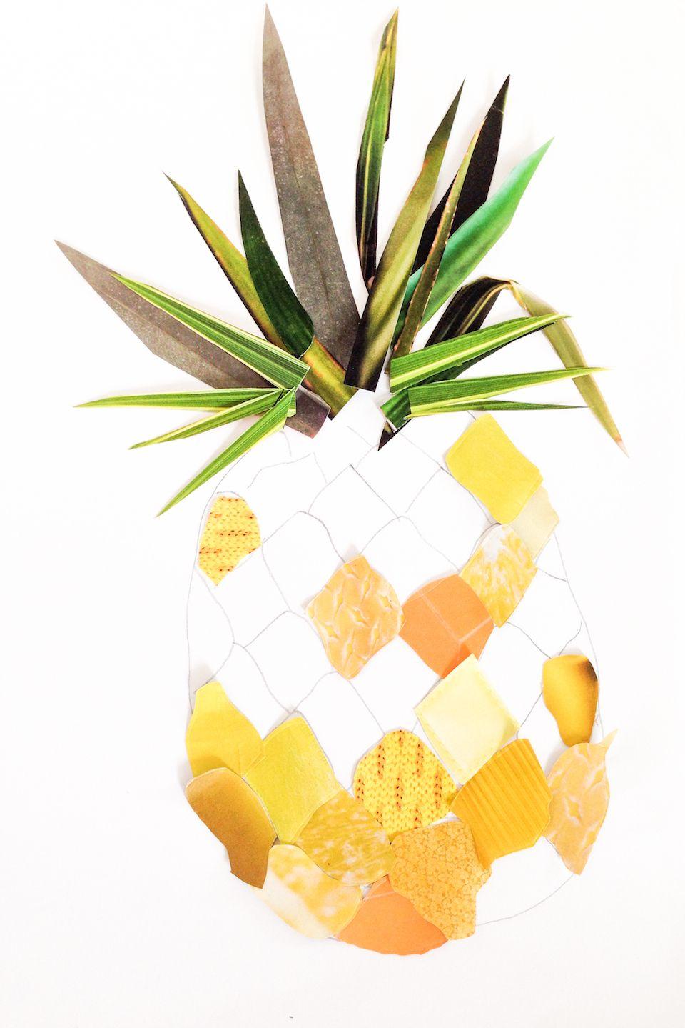 Geräumig Collage Basteln Das Beste Von Home Diy: Pinesuperble Paper