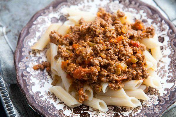Schnelle Pasta Bolognese Sauce