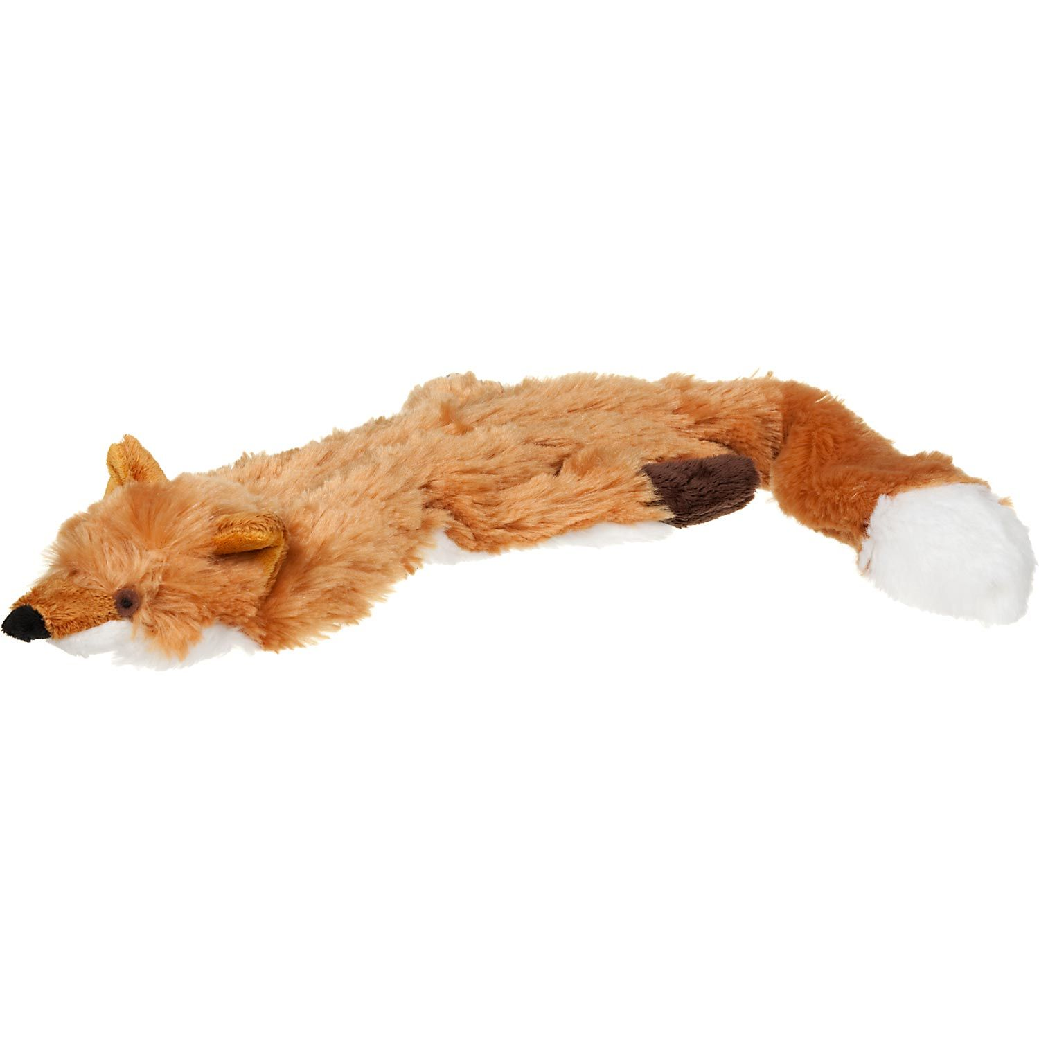 Spot Skinneeez Stuffing Free Fox Dog Toy Fox Dog Plush Dog Toys