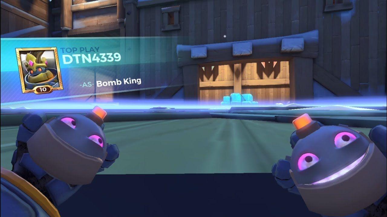 Top Player Bomb King - Paladins