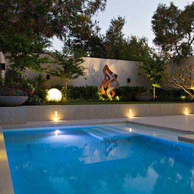 luz exterior jardín Lighting - Iluminación Pinterest Luces