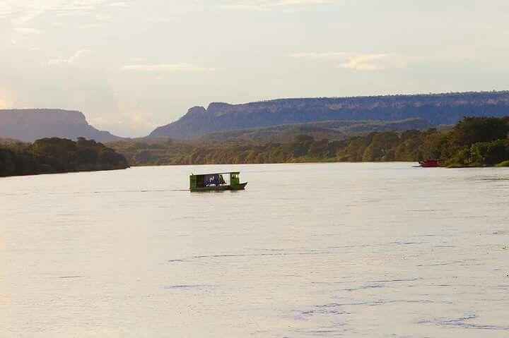 Travessia do Rio Parnaiba.