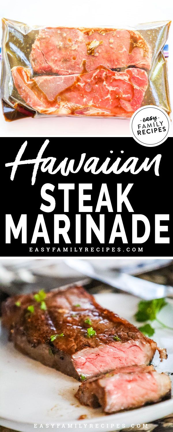 Hawaiian Steak Marinade · Easy Family Recipes