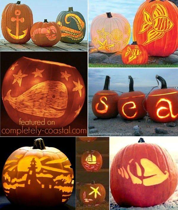 Hello Jack O Lanterns Ready For A Coastal Autumn Celebration