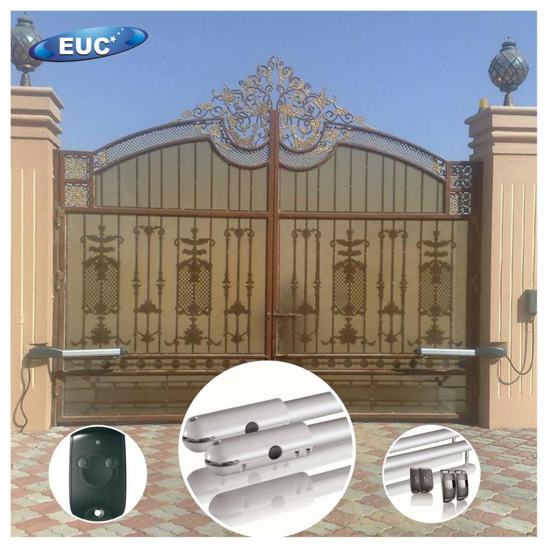 swing gate company in sharjah UAE | Cast Aluminium Gate | Industrial