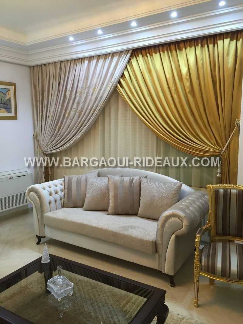 Tunisie Curtain #Rideaux Tunis #Ennasr 2 | Bargaoui Rideaux ...