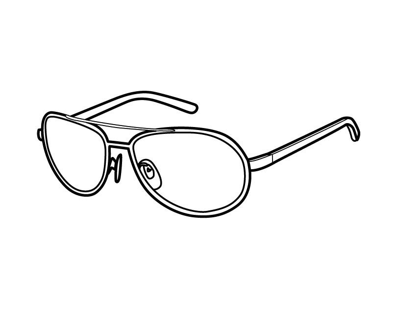 Coloring Pages Of Sun Glasses Coloring Pages Free Coloring