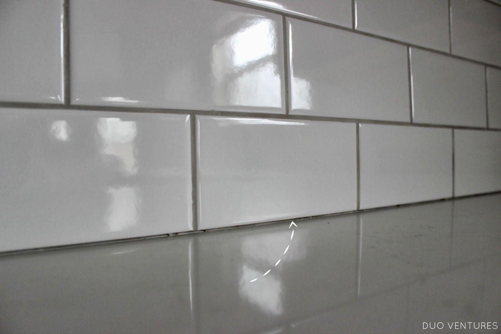 - Kitchen Update: Grouting & Caulking Subway Tile Backsplash