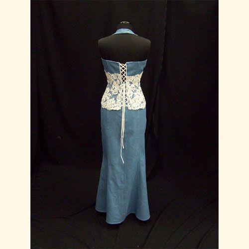 Lace and Denim Wedding Dresses