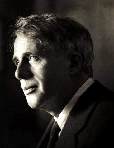 Robert Frost (1874-1963), born in San Francisco, CA. His father William Frost, a journalist, died when Frost was eleven years old. His Scottish mother, the former Isabelle Moody, resumed her career as a schoolteacher to support her family. The family lived in Lawrence, MA, with Frost's paternal grandfather, William Prescott Frost, who gave his grandson a good schooling. In 1892 Frost graduated from a high school and attended Darthmouth College for a few months.CLICK TO READ MORE