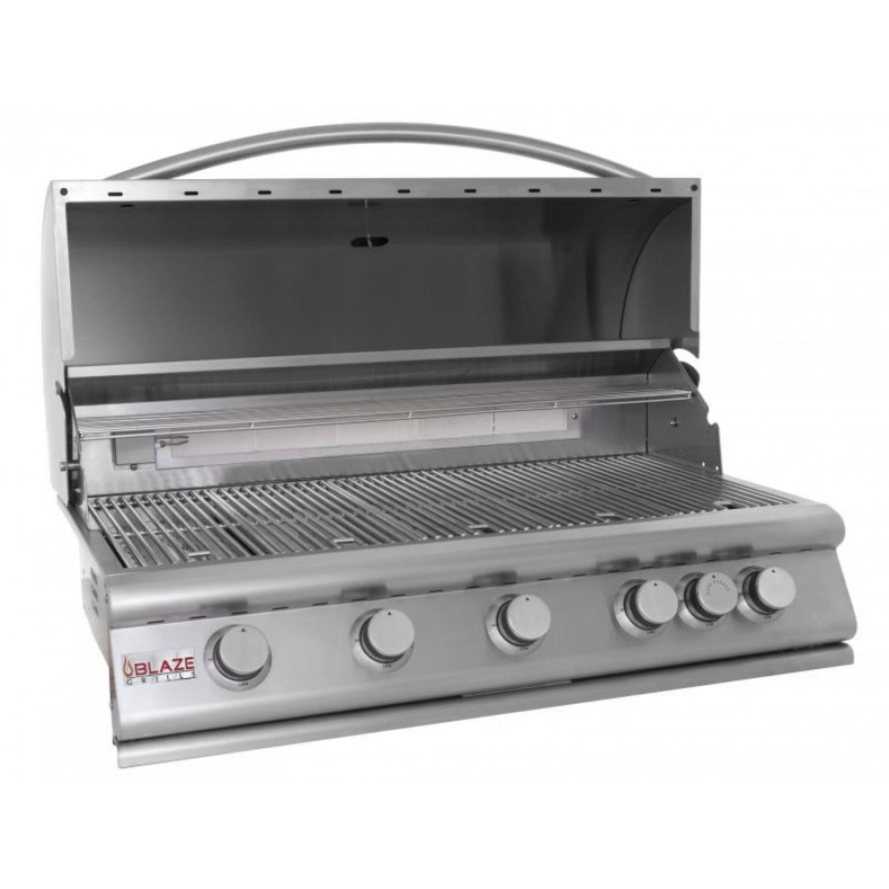 Blaze 40 Inch 5 Burner Built In Propane Gas Grill With Rear Infrared Burner Blz 5 Lp Natural Gas Grill Outdoor Kitchen Design Gas Grill