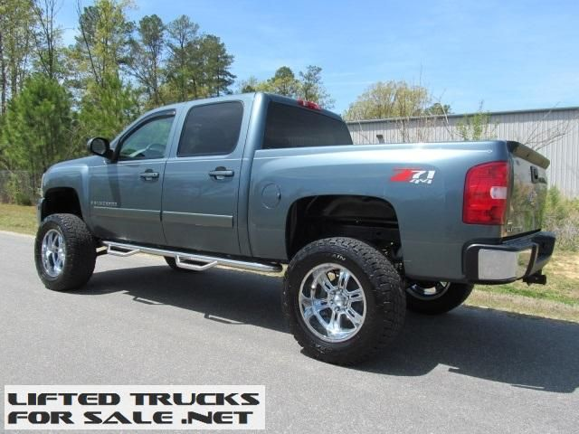 Blue Chevrolet Silverado Truck Lifted Trucks Lifted