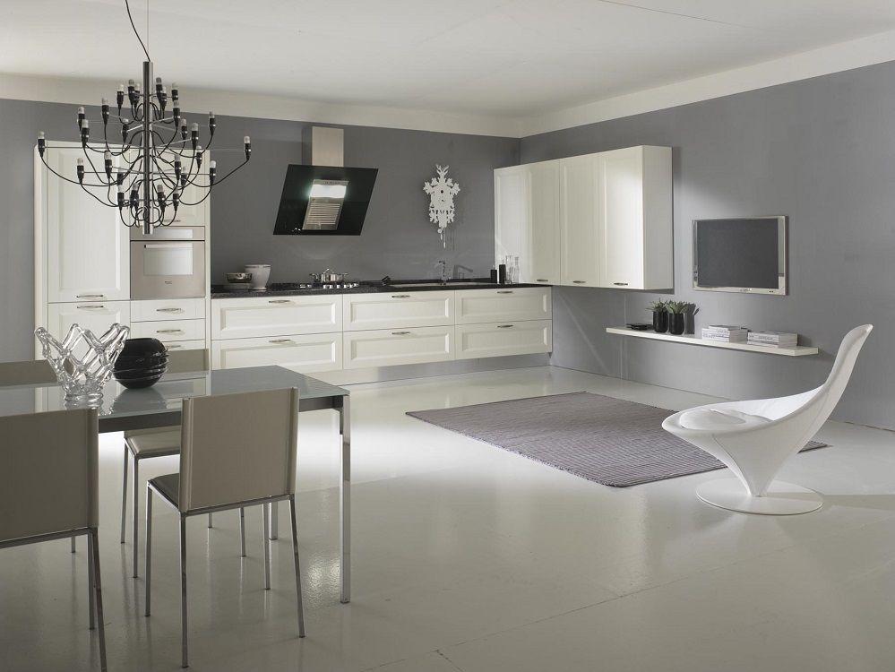 Cucinesse cucina moderna angel contrasti armonici for Decorazioni cucine moderne