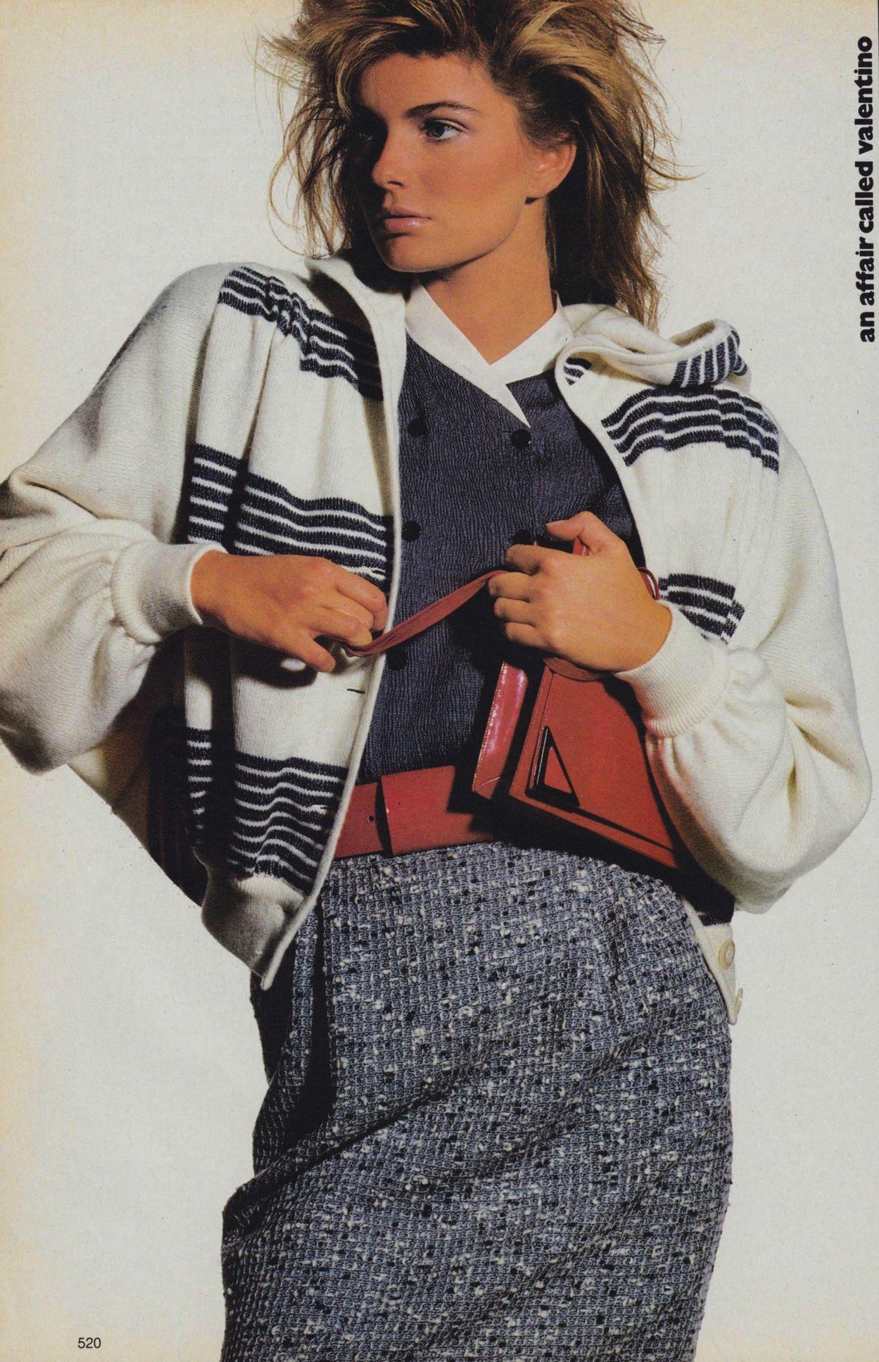 Vogue 1985 80s Fashion 1980s Fashion Fashion