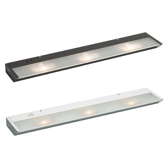 Xe Series Line Voltage Xenon 3 Light Under Cabinet Lighting