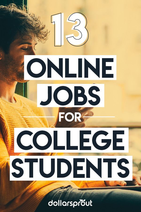 001 13 Legit Online Jobs for College Students (to Make Easy