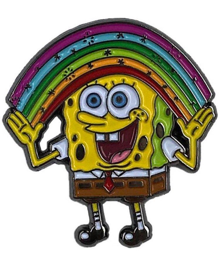 $9.95 - Spongebob Squarepants Enamel Pin Imagination ...