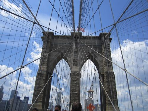 Brooklyn Bridge...one of the best things to do in nyc