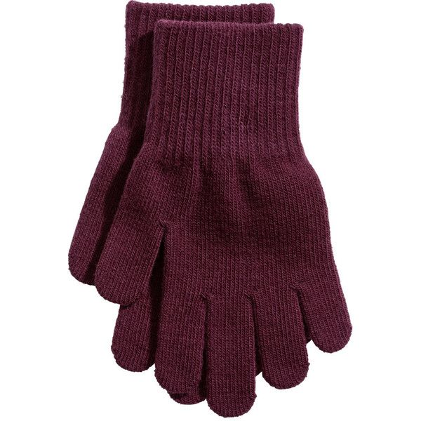 3-pack Gloves $5.99 ($5.99) ❤ liked on Polyvore featuring accessories and gloves