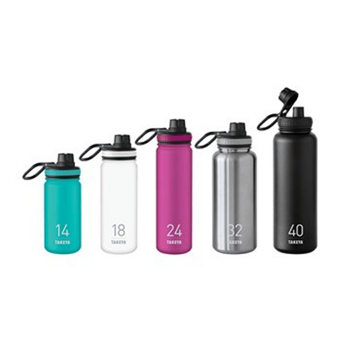 6a1308e7f9 Takeya Thermoflask Insulated Stainless Steel Bottle, Choose Your Size And  Color