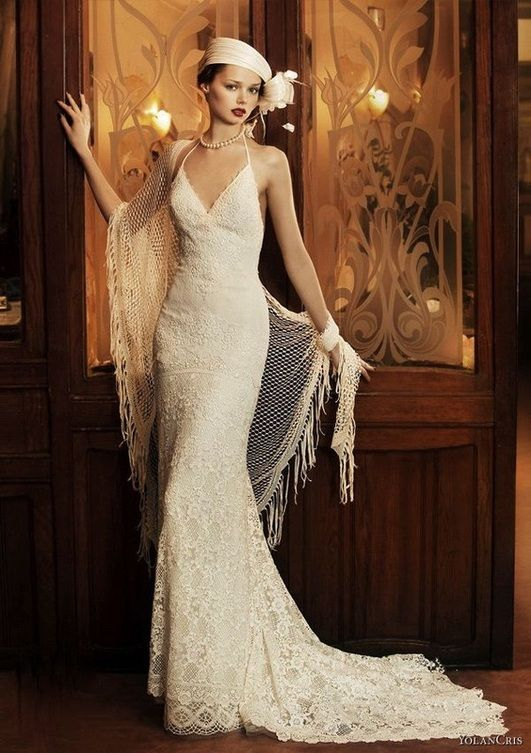 30 Vintage Wedding Dresses Bride Style | Pinterest | 1920s wedding ...