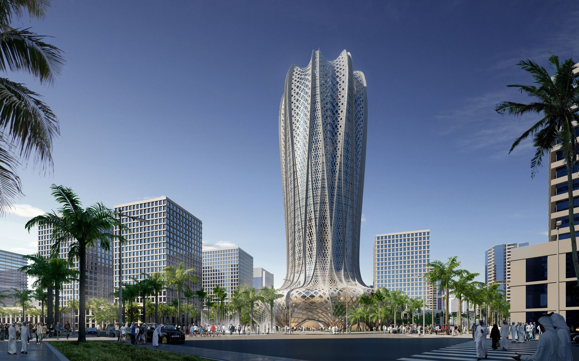Gallery of Zaha Hadid Architects to Design Hotel and Residential ...