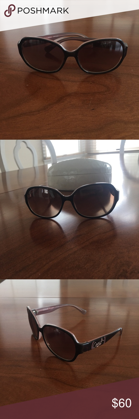 Coach Sunglasses (Milly) Coach Sunglasses // Style: Milly // In great condition. Worn for about 1 season and taken very great care of. No scratches or extreme signs of wear. // Comes with the original case. // 100% Authentic. Purchased from the Coach store. // Feel free to make an offer! Coach Accessories Sunglasses