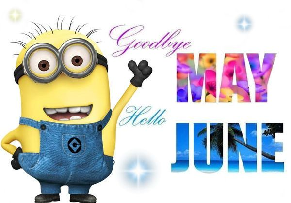 goodbye may hello june welcoming in a new month pinterest june rh pinterest com