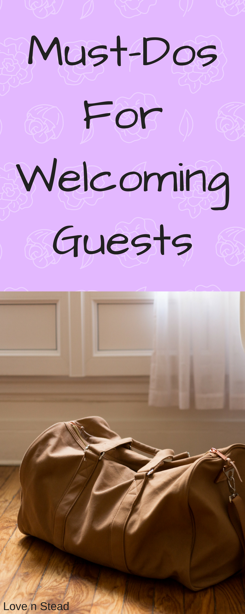 Take care of your guests the right way! Implement these tips when you are having company and let them know you care!