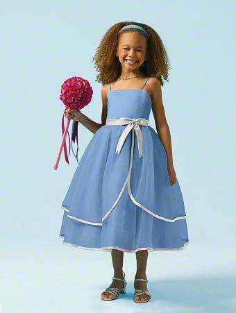 c00246c7405 Flower Girl dress for our subtle Alice in Wonderland theme.  ) Alfred  Angelo style 6604