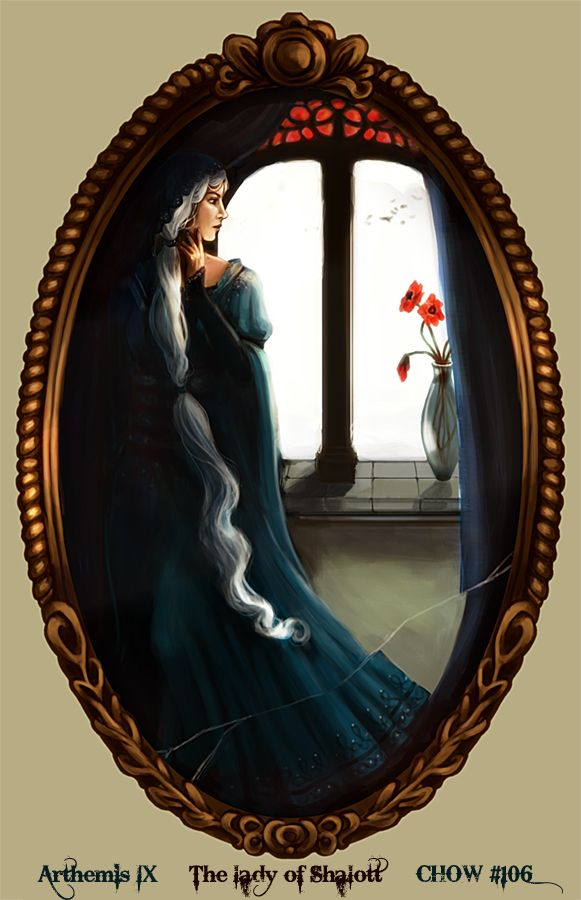 The Lady Of Shalott The Lady Of Shallot Pinterest Pretty Art