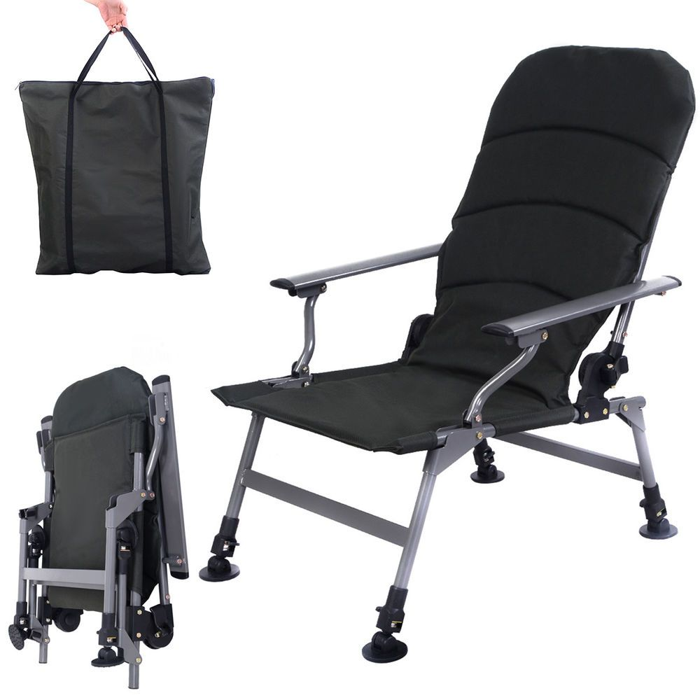 fishing chair ebay office chairs houston tx www topsimages com army green portable folding adjustable camping outdoor jpg 1000x1000
