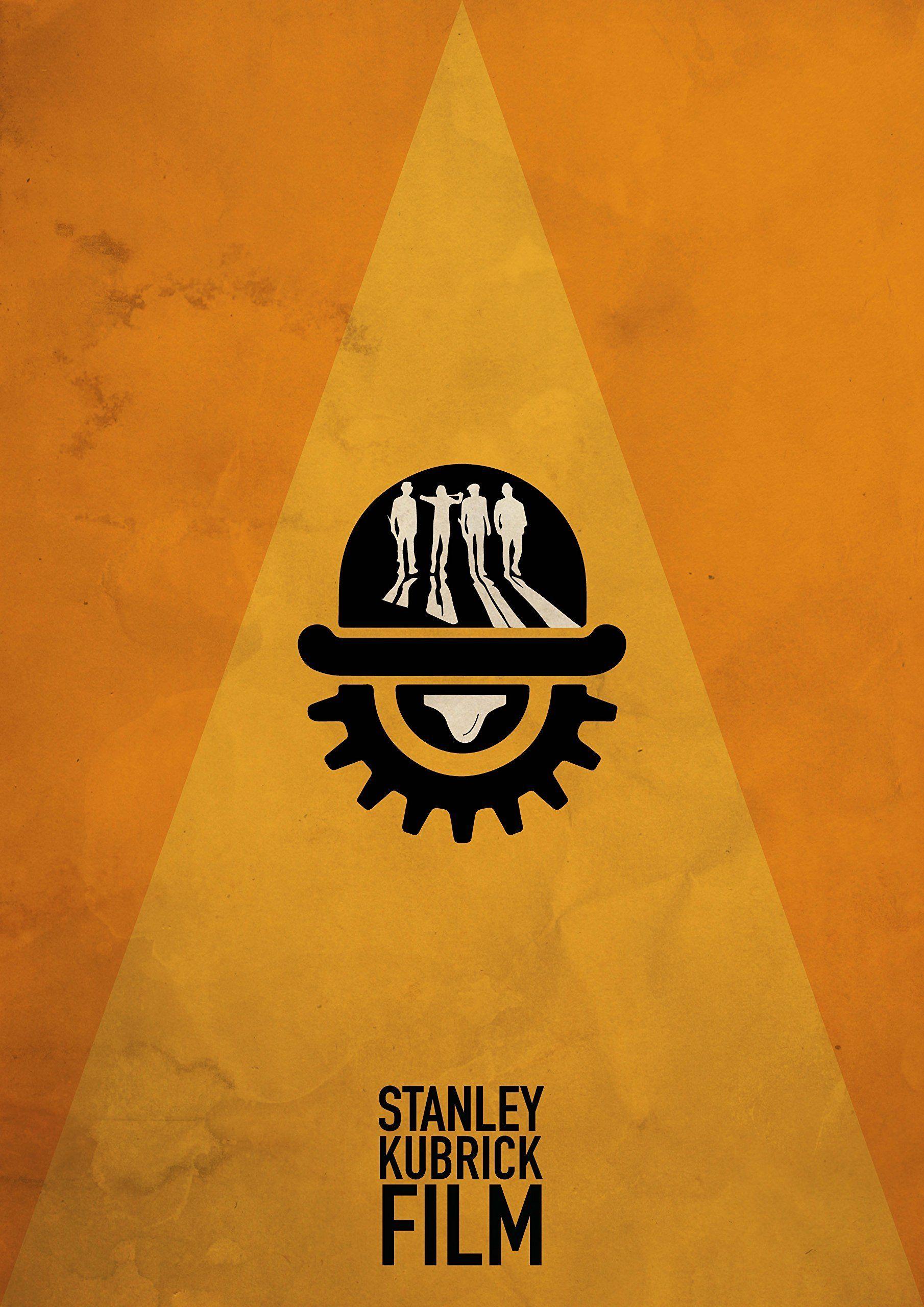 Stanley Kubrick Minimalist Poster Set Of 3 Films The Shining A