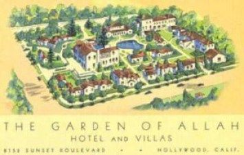 Garden of Allah postcard