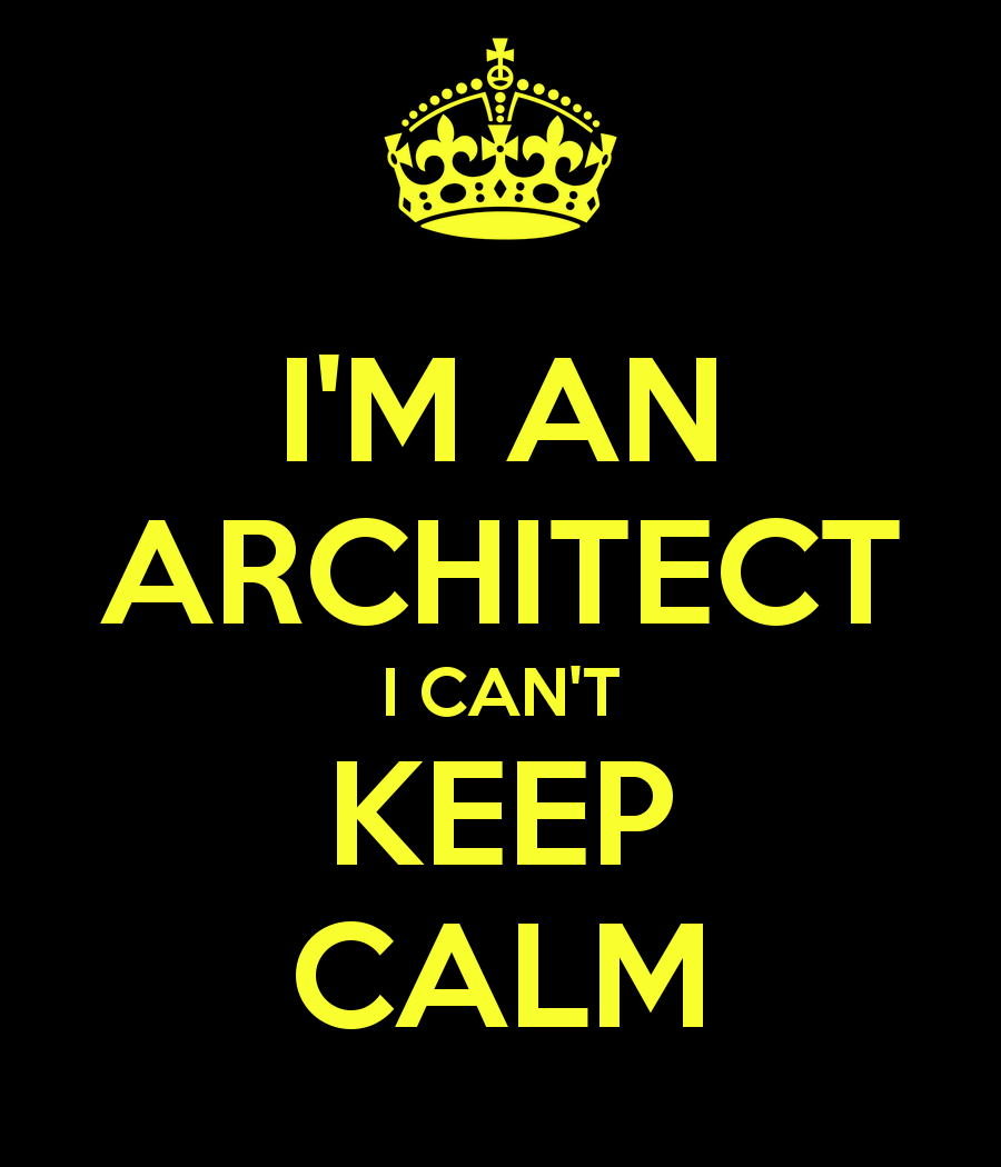 Dating an Architect