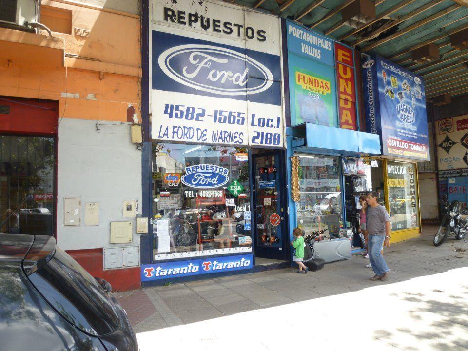 La Ford De Warnes Warnes Villa Crespo Ciudad De Buenos Aires