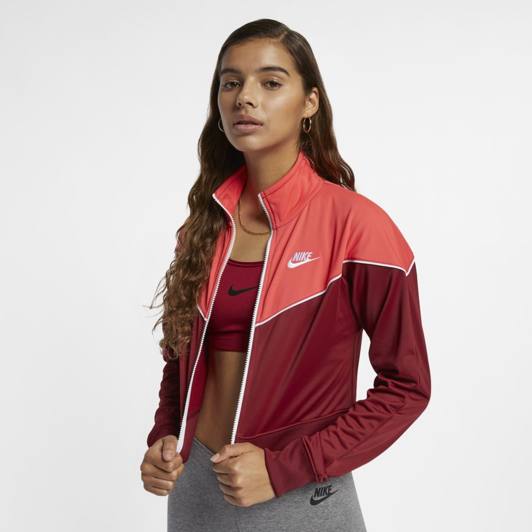 62fec856eb Nike Sportswear Windrunner Women s Knit Jacket Size 2XL (Team Red ...