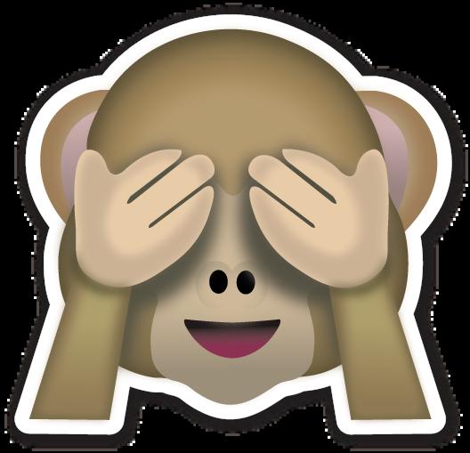 See No Evil Monkey Monkey Emoji Emoji Emoticons Emojis
