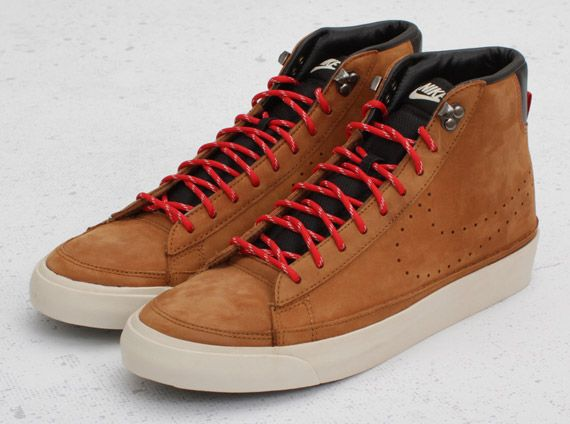 Nike Blazer Mid ACG. Love these, but I do have a pair of Vans in suede that are similar.