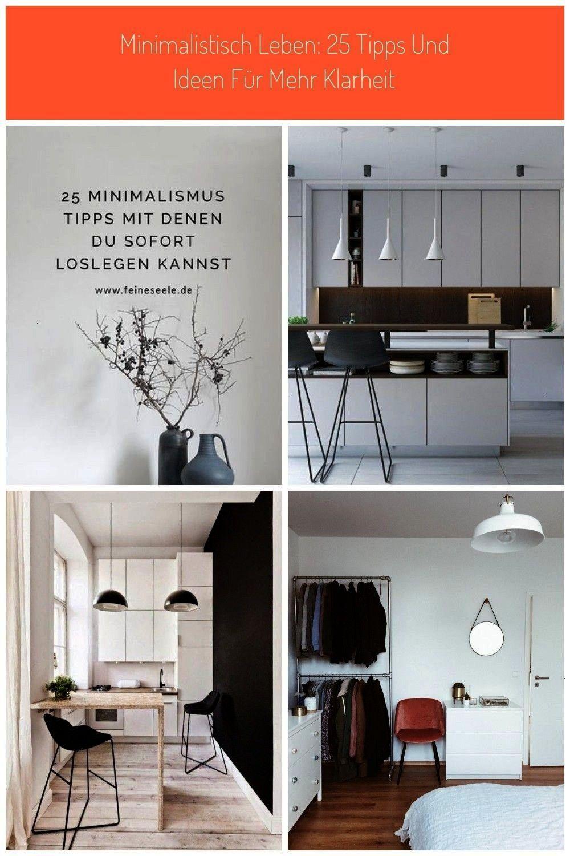 minimalistisch leben weißt aber nicht wo du anfangen sollst wohnen Minimalistisch leben 25 Tipps und Ideen für mehr Klarheit  Feine SeeleDu willst minimalistis...