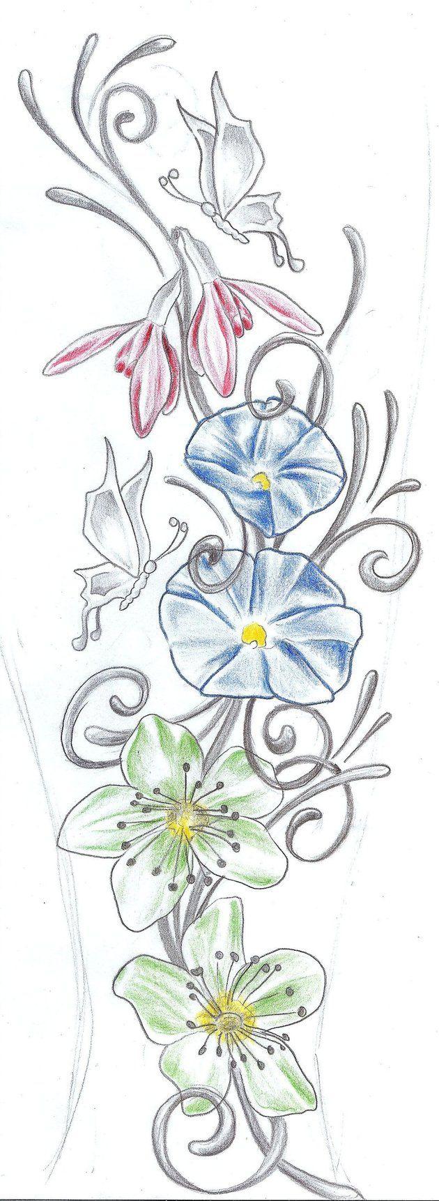 Enredaderas De Flores Para Pintar Imagui Dibujos Para Iluminar